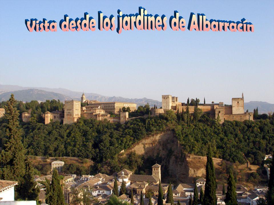 Vista desde los jardines de Albarracín