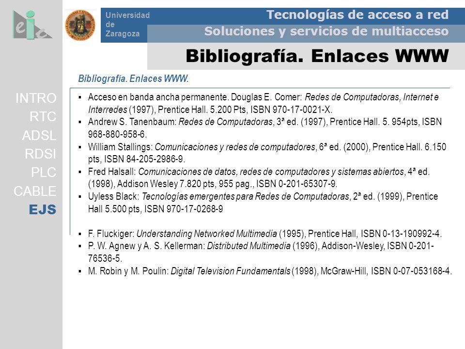 Bibliografía. Enlaces WWW