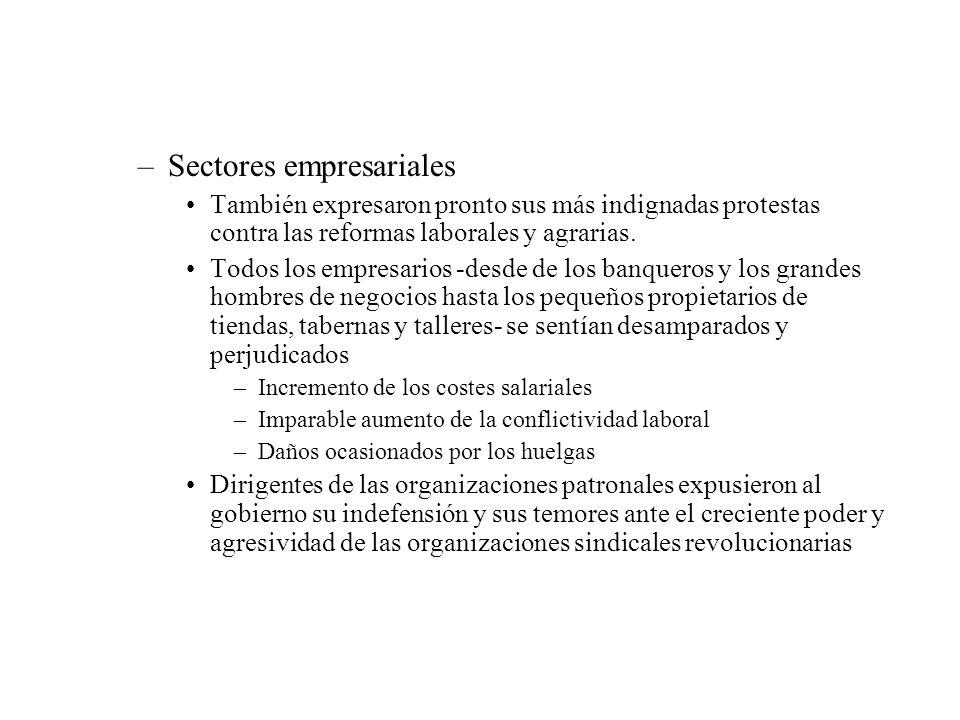 Sectores empresariales