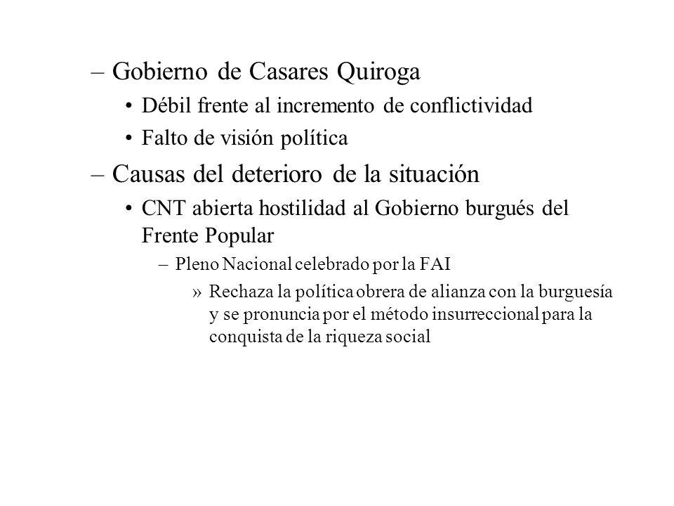 Gobierno de Casares Quiroga