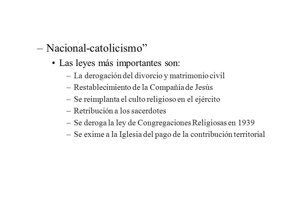 Nacional-catolicismo