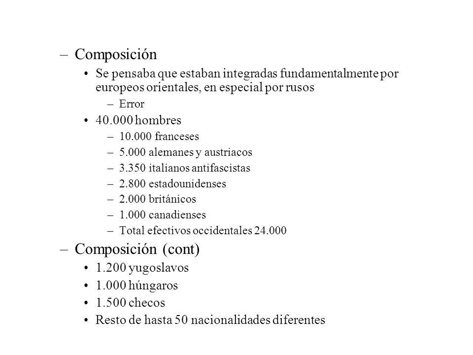 Composición Composición (cont)