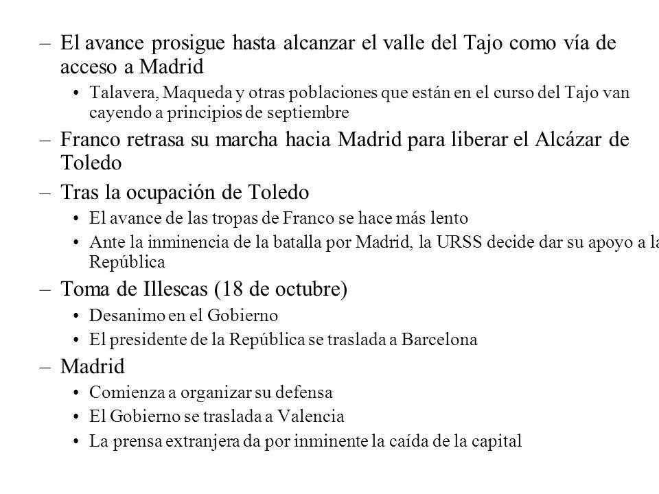 Tras la ocupación de Toledo
