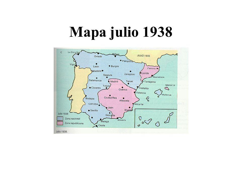 Mapa julio 1938