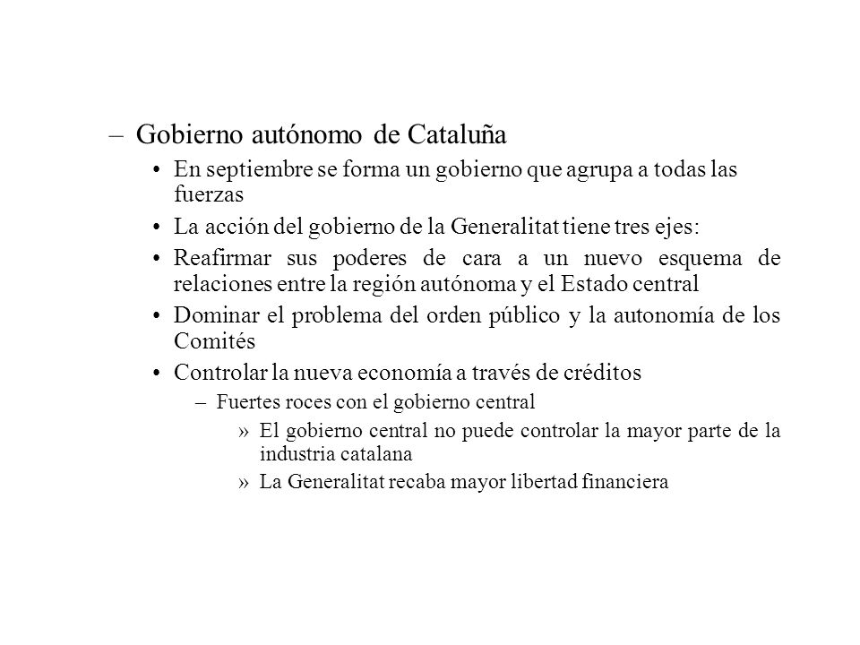 Gobierno autónomo de Cataluña