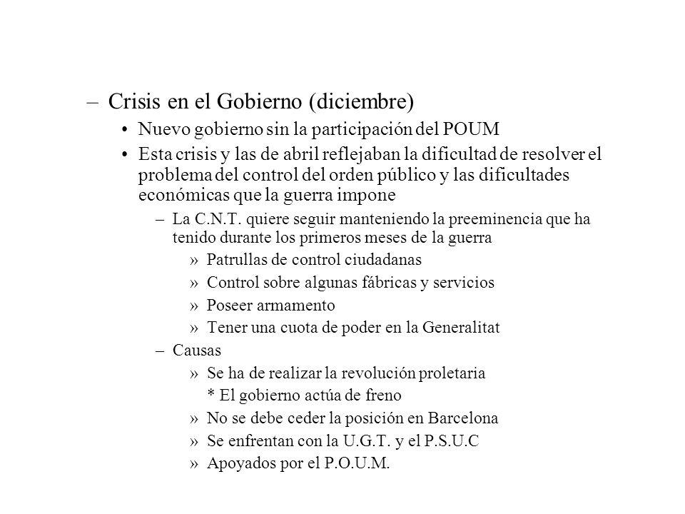 Crisis en el Gobierno (diciembre)