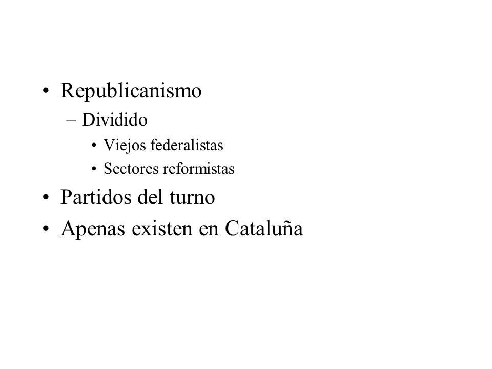Apenas existen en Cataluña