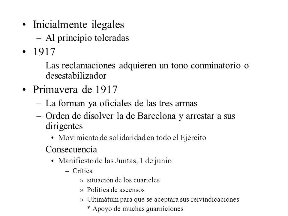Inicialmente ilegales 1917
