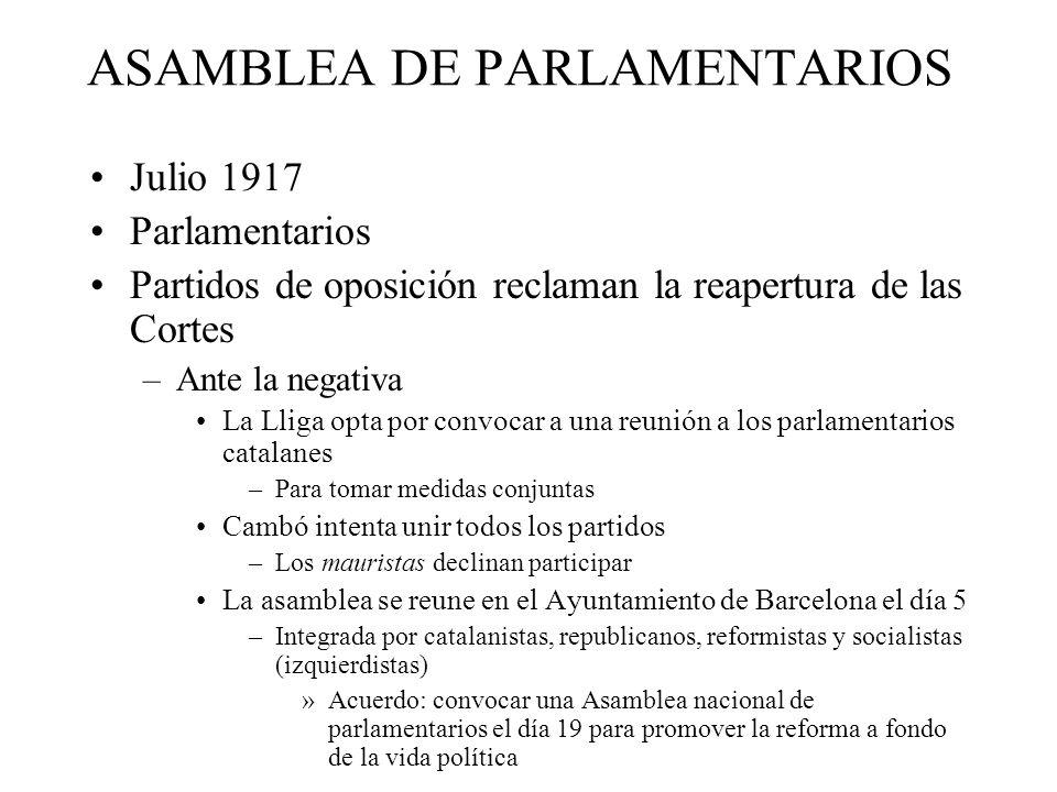 ASAMBLEA DE PARLAMENTARIOS