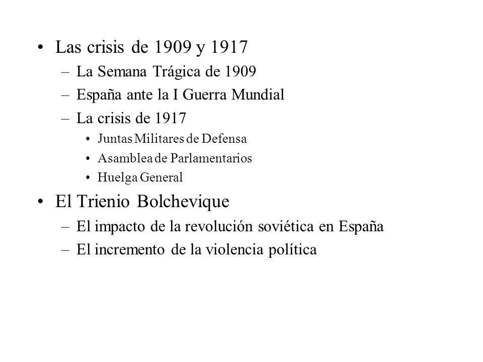 El Trienio Bolchevique