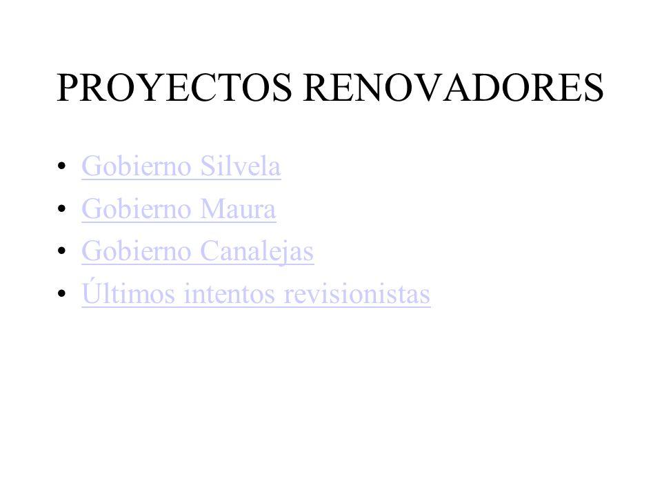 PROYECTOS RENOVADORES