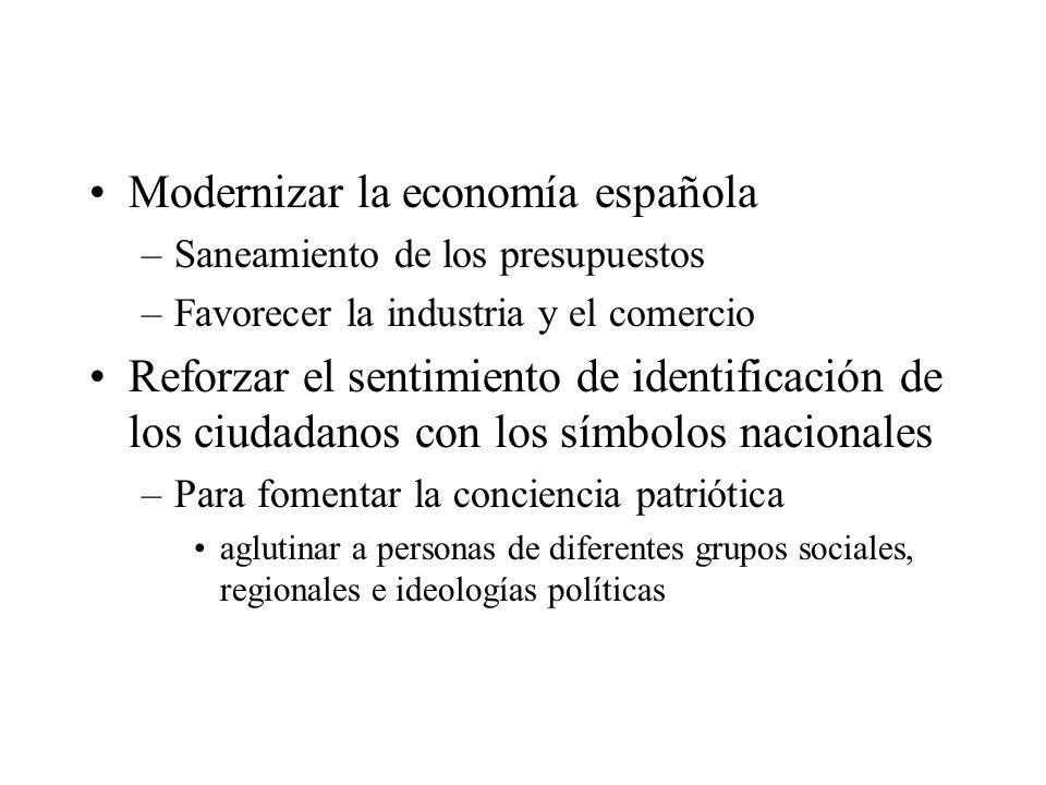 Modernizar la economía española