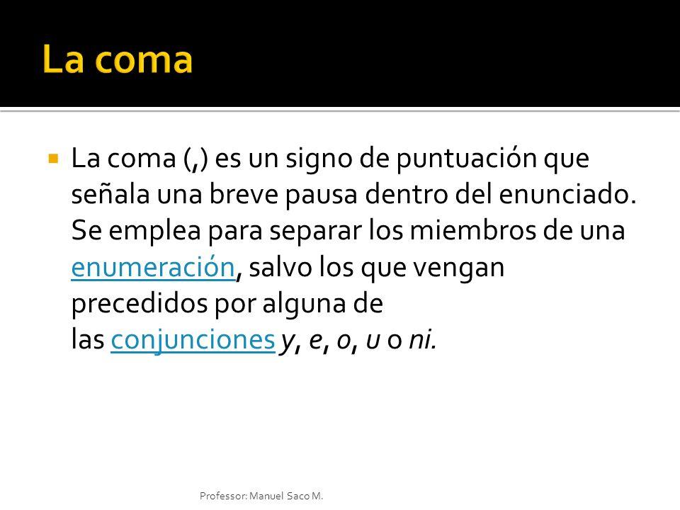 La coma