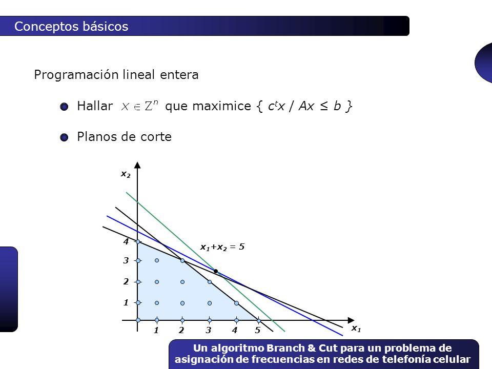 Programación lineal entera