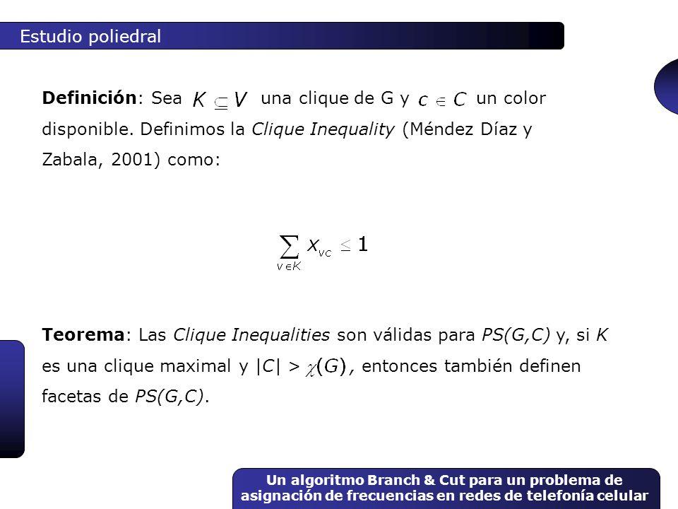 Estudio poliedral