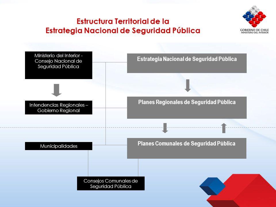 Estructura territorial de la estrategia nacional de - Estructura ministerio del interior ...