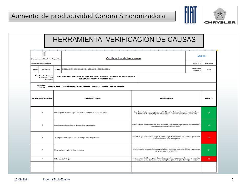HERRAMIENTA VERIFICACIÓN DE CAUSAS