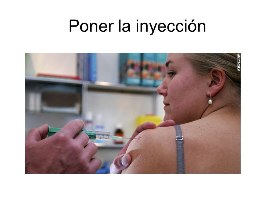 Poner la inyección