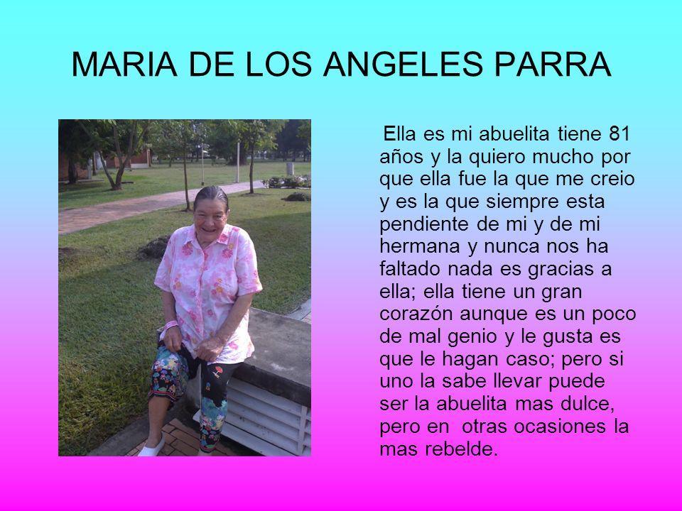 MARIA DE LOS ANGELES PARRA