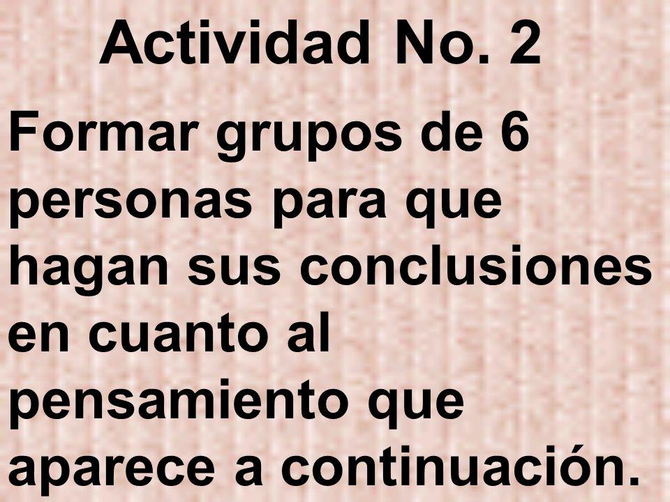 Actividad No.