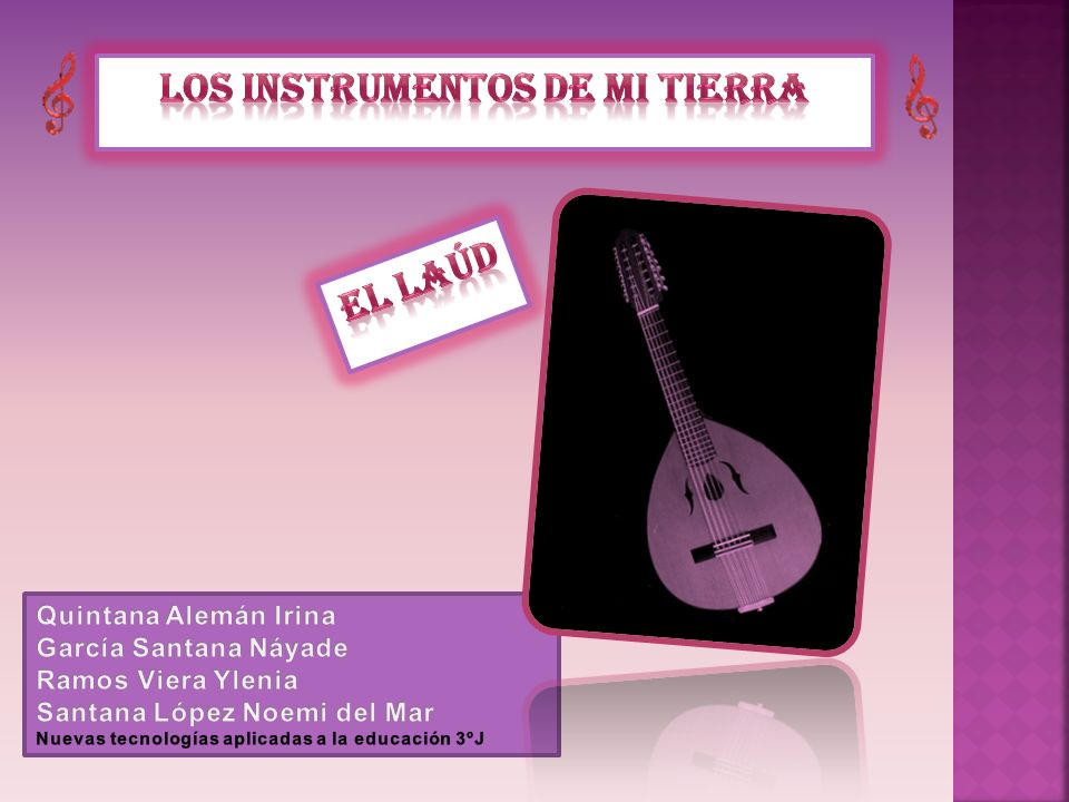 Los instrumentos de mi tierra
