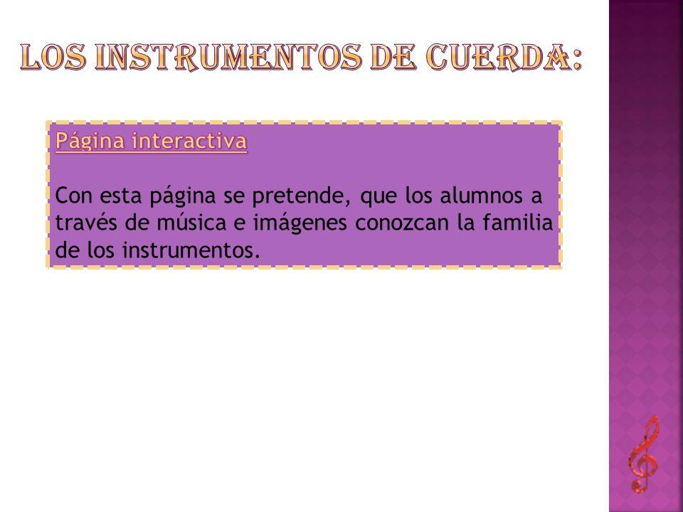 Los instrumentos de cuerda: