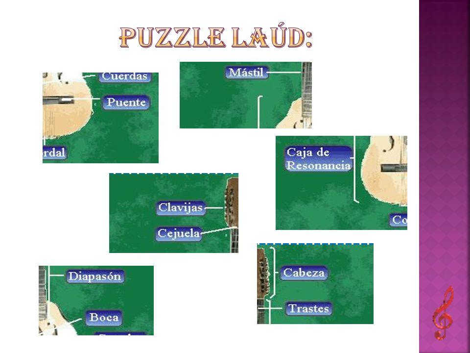 Puzzle laúd: