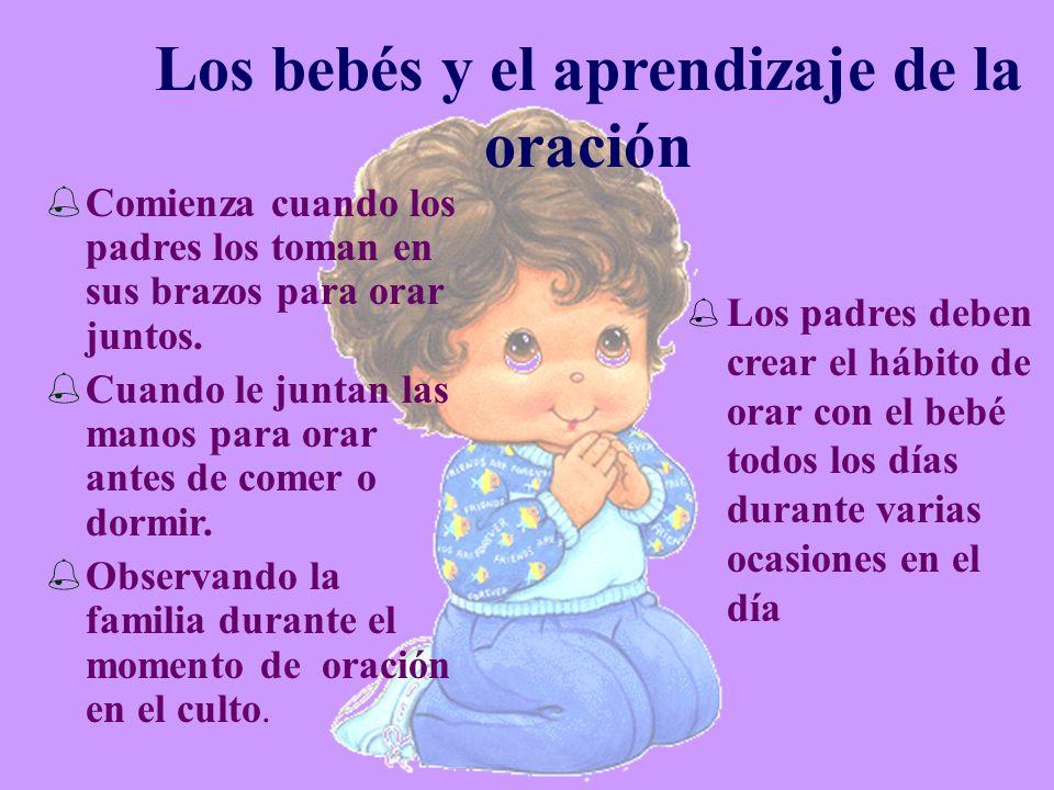 Los bebés y el aprendizaje de la oración