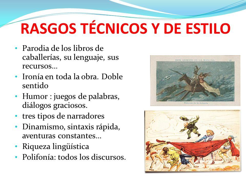 RASGOS TÉCNICOS Y DE ESTILO