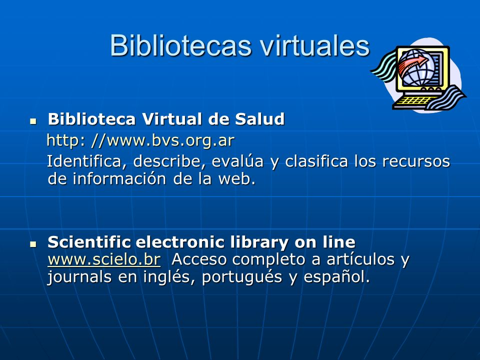 Bibliotecas virtuales