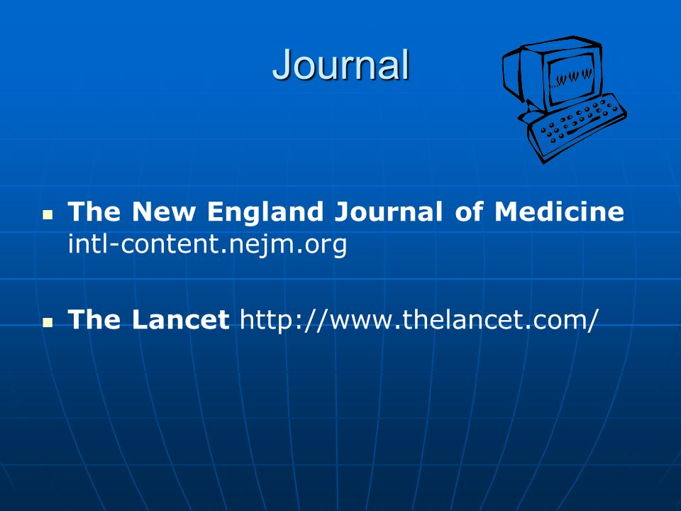 Journal The New England Journal of Medicine intl-content.nejm.org