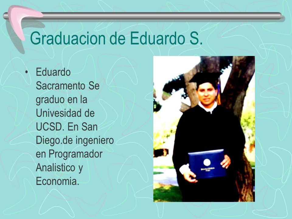 Graduacion de Eduardo S.