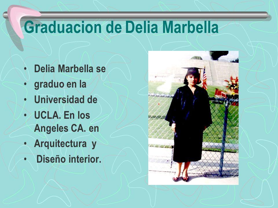 Graduacion de Delia Marbella