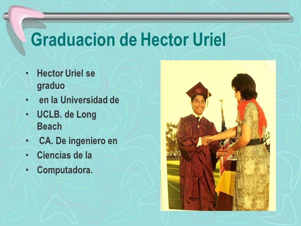 Graduacion de Hector Uriel