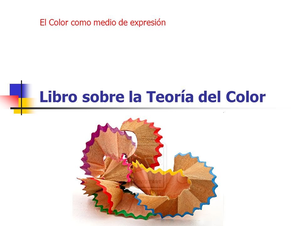 Libro sobre la Teoría del Color - ppt video online descargar