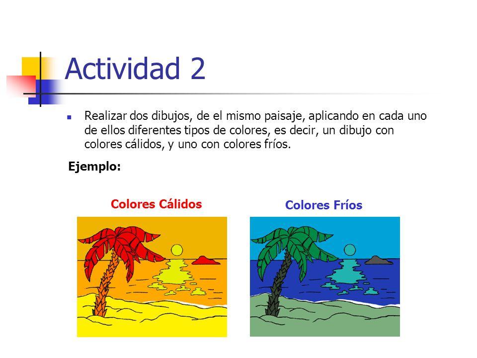Libro sobre la teor a del color ppt video online descargar - Paisaje con colores calidos ...