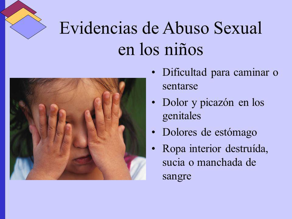 Secuelas emocionales en vctimas de abuso sexual en la