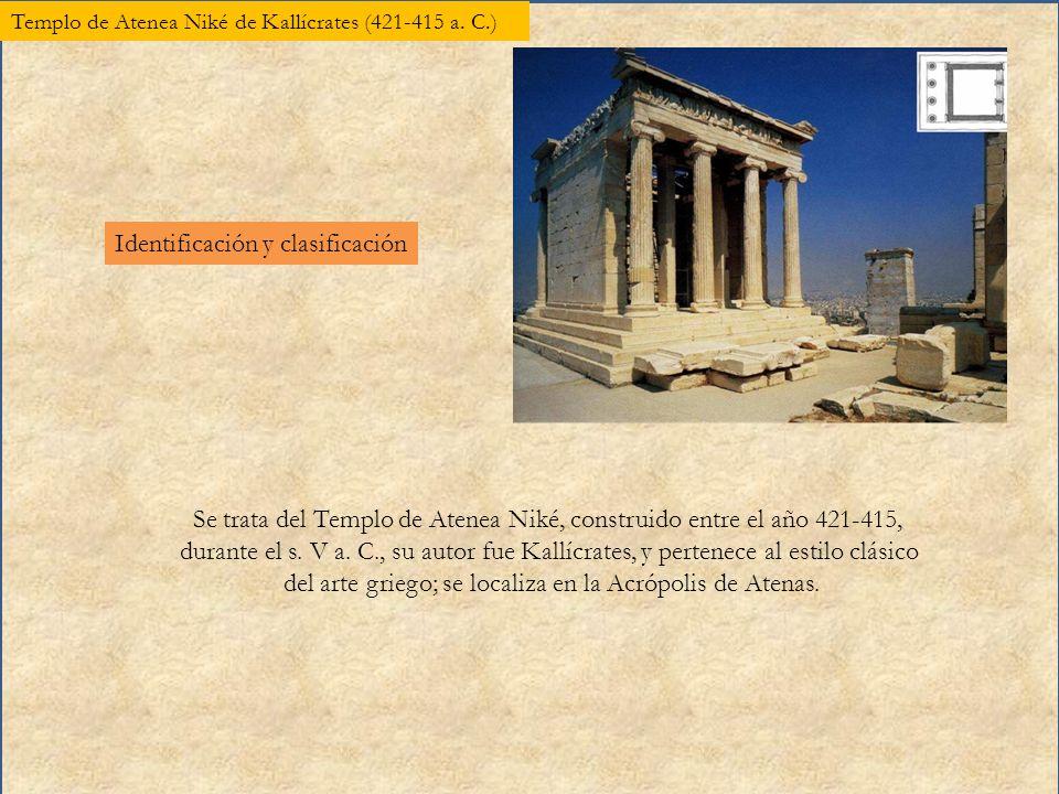 Templo De Atenea Nike De Kallicrates A C