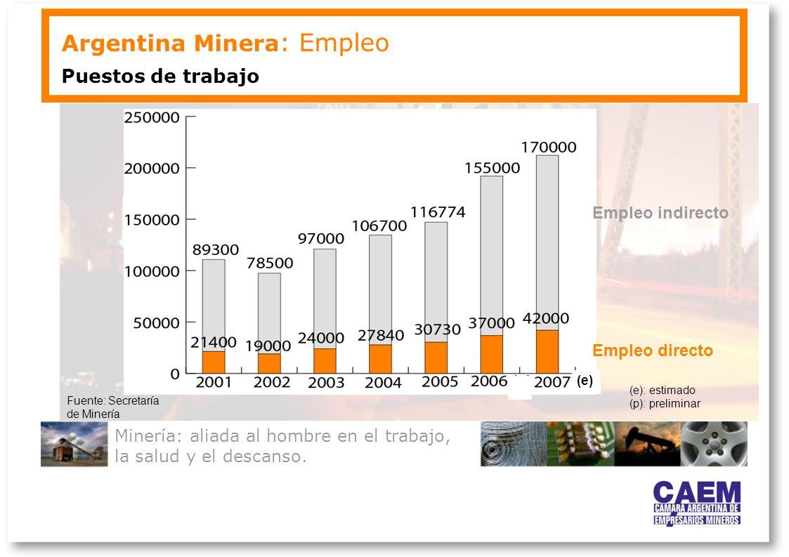 Argentina Minera: Empleo