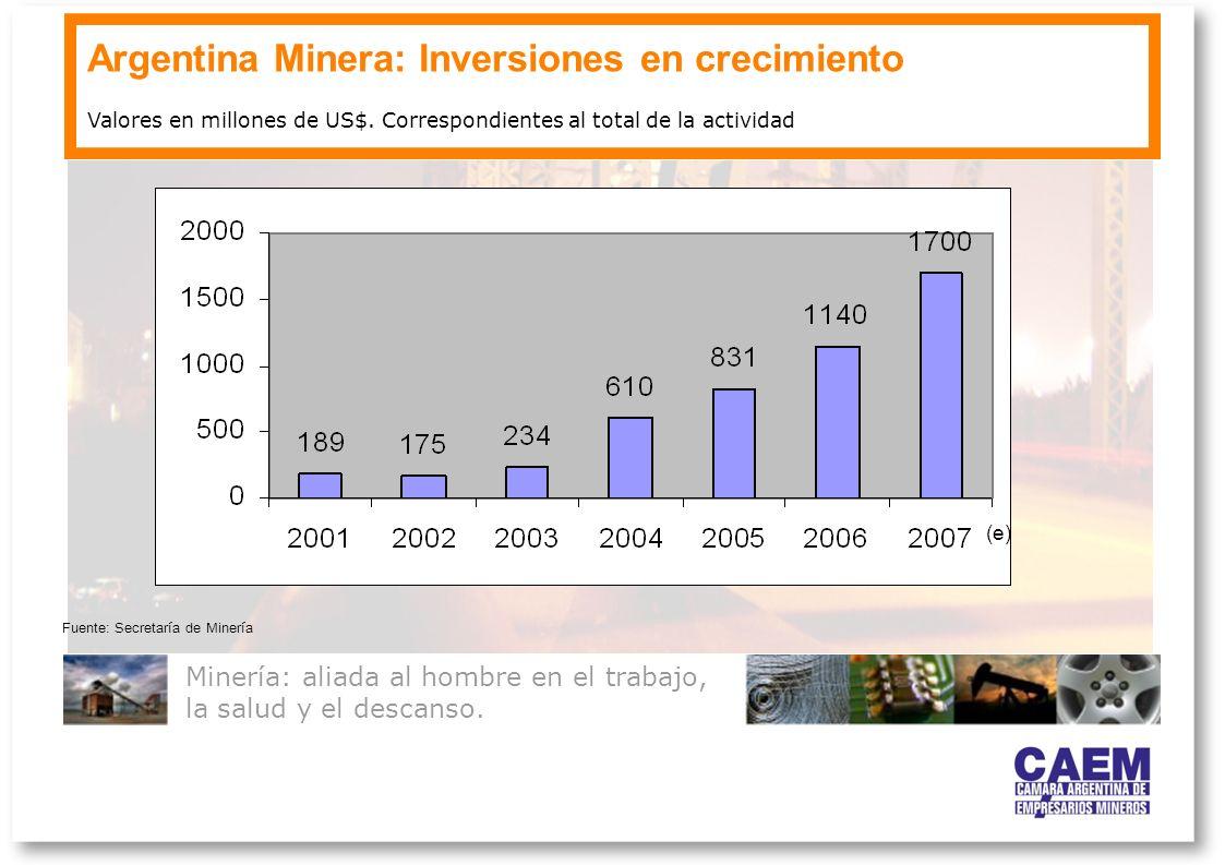 Argentina Minera: Inversiones en crecimiento