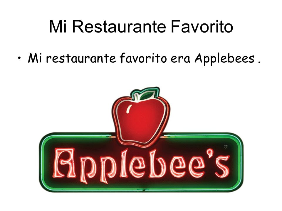 Mi Restaurante Favorito