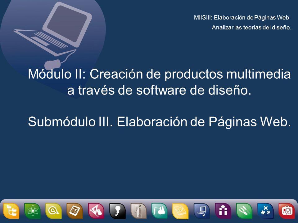 Módulo II: Creación de productos multimedia a través de software de ...