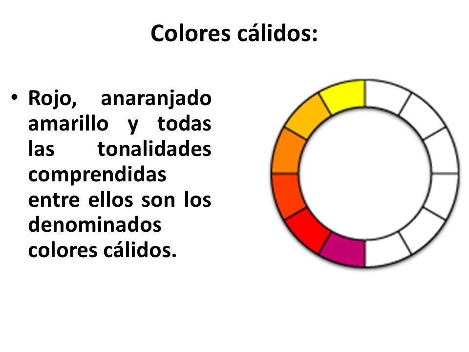 Historia del estudio del color teor a del color psicolog a del color ppt descargar - Todos los colores calidos ...