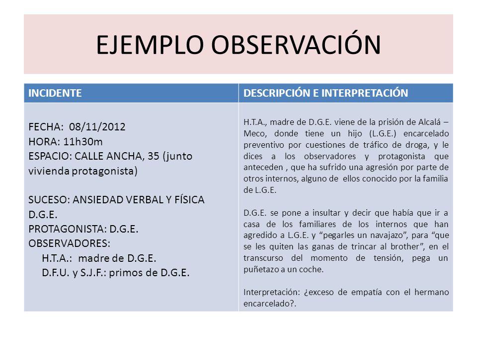 Ejemplos De Observacion Didactica De Computacion E