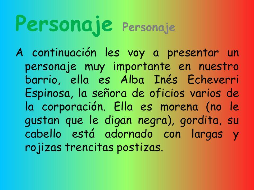 Personaje Personaje