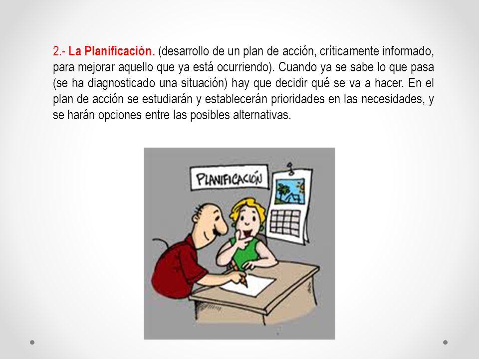 2.- La Planificación.