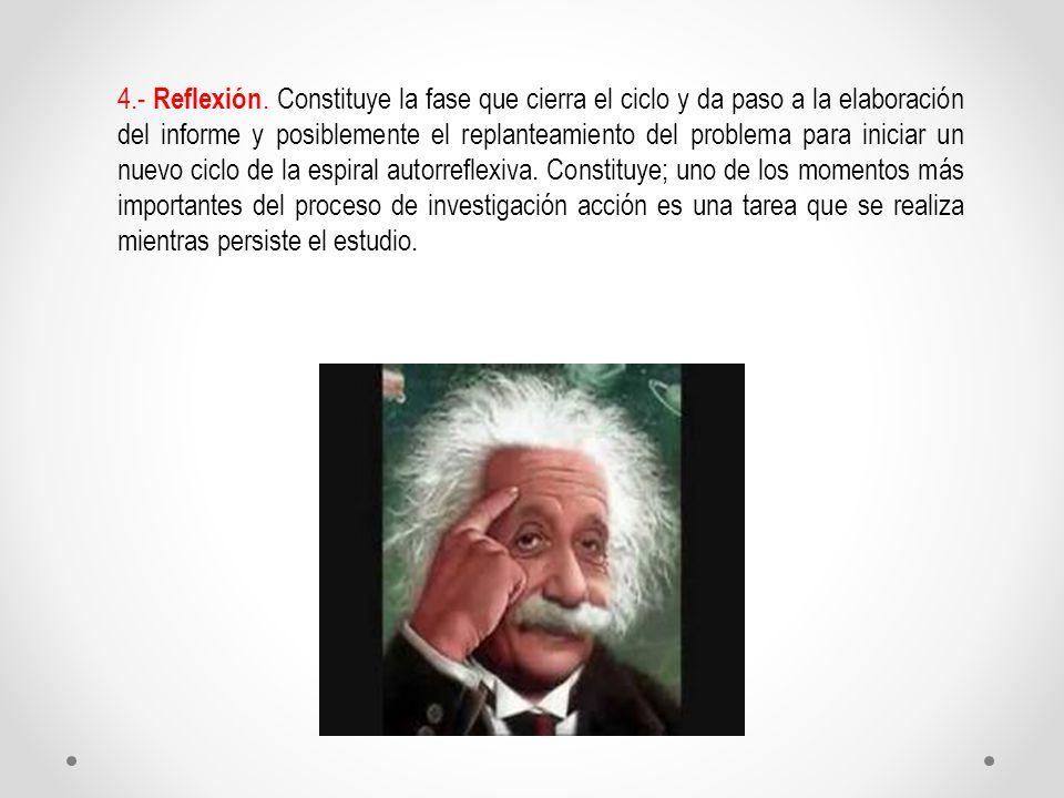 4.- Reflexión.