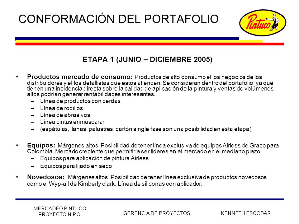 Conformaci n del portafolio ppt descargar for Productos para singles