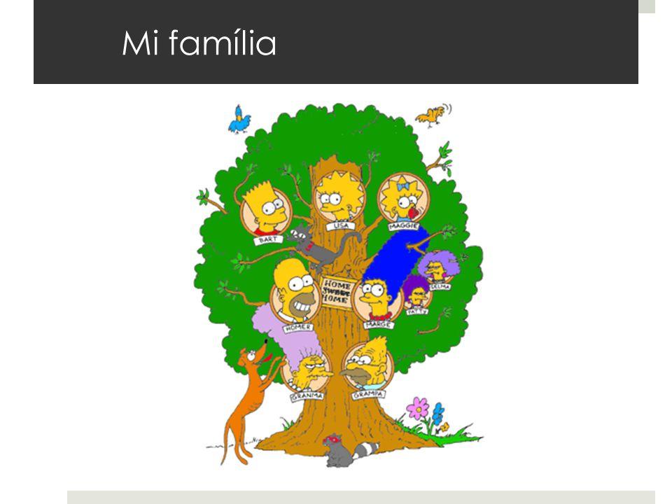 Mi família