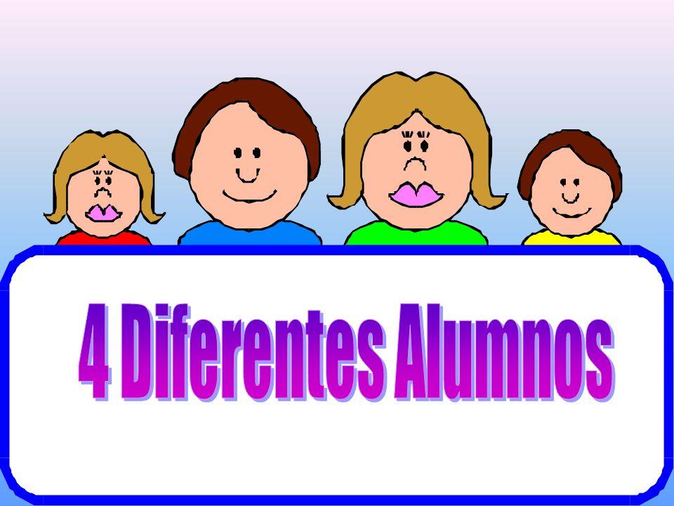 4 Diferentes Alumnos
